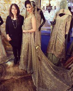Love this. Tehxeeb London bridals