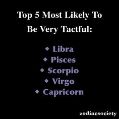 Top 5 Most Likely To Be Very Tactful.