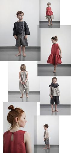 Muku Kid's Clothes - looks like Les Miserables' costumes! Little Fashion, Boy Fashion, Cheap Fashion, Fashion Clothes, Japanese Kids, Kids Outfits, Cute Outfits, Kid Styles, Sewing For Kids