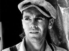 Henry Fonda was Best Actor of 1940 in The Grapes of Wrath, based on Steinbeck's novel about Dust Bowl refugees in California, directed by John Ford.