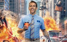 'Free Guy' Starring Ryan Reynolds Gets A New Release Date Ryan Reynolds, Channing Tatum, 2020 Movies, Top Movies, Movies Free, Watch Movies, Deadpool, Agatha Christie, Hollywood