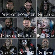 DC Suicide Squad Movie 2016