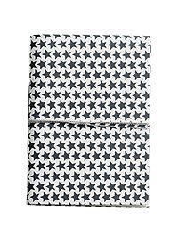 Notizbuch Super Notizbuch für super Ideen, die Einkaufsliste oder das Tagebuch. Mit Sternchenpapier bezogen und einem Band zum verschliessen ist dieses Büchlein schön, handlich und immer ein praktischer Begleiter.
