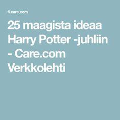25 maagista ideaa Harry Potter -juhliin - Care.com Verkkolehti