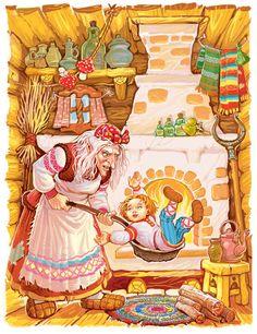 Что за прелесть эти сказки! Сказочные иллюстрации Виктора Служаева