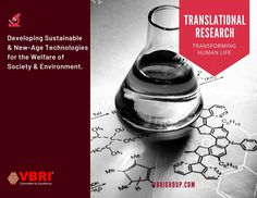 By utilizing Translational Research & Innovation, VBRI works extensively on clinical researches and field trails to enhance and develop the conventional tools and technology in the sectors of healthcare, energy, and environment. Translational Research, Clinical Research, Innovation, Health Care, Environment, India, Technology, Tools, Tech