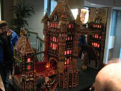 Gingerbread Houses at City Centre in Seattle Gingerbread Houses, Seattle, Centre, Christmas Tree, City, Holiday Decor, Blog, Inspiration, Teal Christmas Tree