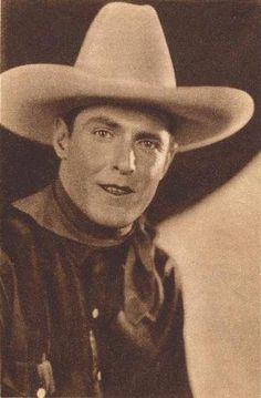Ken Maynard, Singing cowboy actor