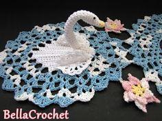 BellaCrochet: Serene Swans Doily: A Free Crochet Pattern For You
