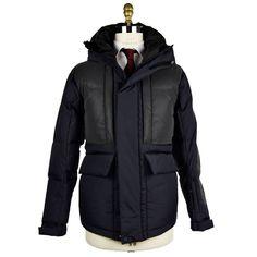 KNT Kiton Coat Blue Italian luxury Coats IsuiT