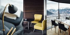 Dolomites Road Trip Italie Miramonti Boutique Hotel Interieur Miramonti Boutique Hotel, Road Trip, Small Luxury Hotels, Restaurant, Dining Chairs, Places, Europe, Furniture, Blog