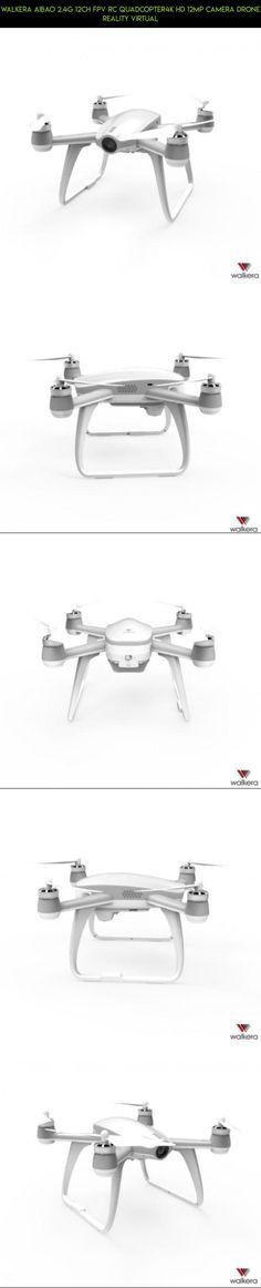 Walkera Aibao 2.4G 12CH FPV RC Quadcopter4K HD 12MP Camera Drone Reality Virtual #camera #parts #aibao #kit #drone #4k #walkera #racing #fpv #tech #shopping #products #technology #gadgets #plans