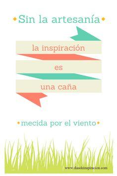 Lámina decorativa: La inspiración es...