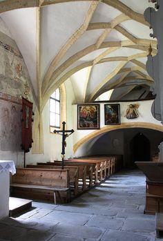 """Nr. 17: """"Filialkirche St. Georg, Rottenmann (Steiermark)"""" via @c_n_opitz - ein Forscherleben, der Blick hinter die Blogkulisse, Walderdbeeren und die Steiermark - wunderschön! (Post vom 29.10.2013)"""