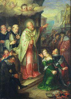 Vaclav Ignac Leopold Markovsky,(1789-1846) Chrzest księcia Borzywoja