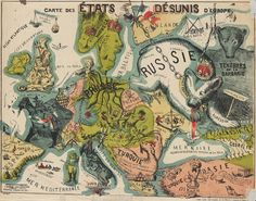 European states, 1864.