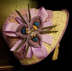 Crochet 1920's Hat - Crochet creation by SRO-AUSTIN