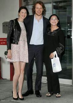 Caitriona, Sam and Diana.