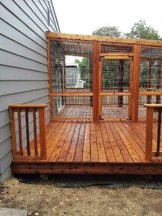 Natural Cedar Exterior Wood Stain and - The Home Depot Screened Porch Designs, Backyard Patio Designs, Pergola Designs, Pergola Patio, Patio Ideas, Backyard Decks, Deck Landscaping, Diy Patio, Outdoor Wood Stain