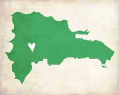 Dominican Republic Love Country