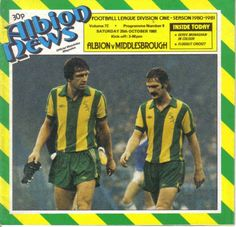 West Bromwich Albion vs Middlesbrough 1980