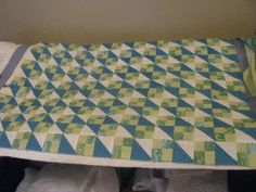 Baby quilt made by Nancy