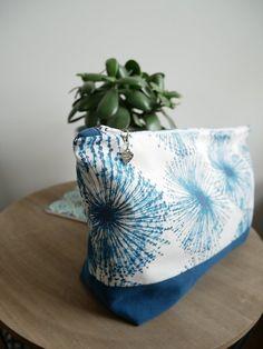 Pochette à projet tricot/couture taille moyenne motifs