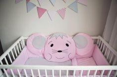 Ochraniacz do łóżeczka - Myszka