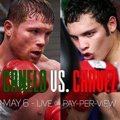 Canelo vs Chávez Jr., lista la batalla para el 6 de mayo | El Puntero