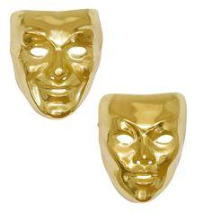 Careta de Oro #mascaras #antifaces #carnaval