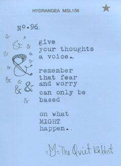 no.96 - thoughts.