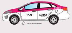 Taxis del Distrito Federal deberán cumplir con nueva cromática