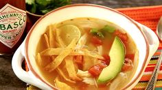 TABASCO® adds deep, rich flavor to broths! Like in this spicy, citrusy chicken soup.