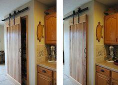 Industrial Barn Door Hardware and Barn Doors - traditional - kitchen - salt lake city - Rustica Hardware