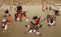 Bethany Lowe Halloween Animals Hanging Ornaments