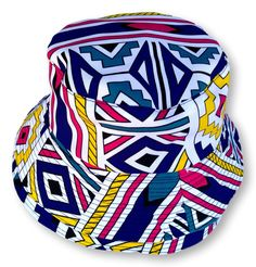 Ndebele Reversible Bucket Hat Size : 35 cm x 21 cm Weight : 50 g Washable : Yes Fabric : Cotton Hand Made Hat Sizes, Snapback, Bucket Hat, Hats, Fabric, Cotton, Handmade, Fashion, Tejido