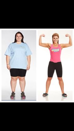 Biggest loser Dani is such an inspiration!!!
