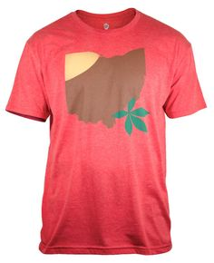FAVORITE!!! I saw a girl wearing this and have been looking for it since! Buckeye Ohio by WhereImFrom on Etsy, $28.00