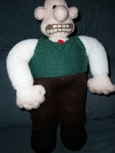 Wallace is designed by Alan Dart by Marionsknittedtoys on Etsy, $33.00