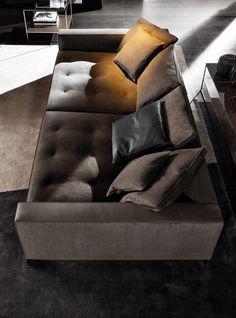 Pollock sofa, Rodolfo Dordoni design. #minotti #furniture #pollock #sofa #seatingsystem #2017collection #madeinitaly #homedecor #interiordesign