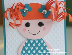 Luvin Stampin Up: Lalaloopsy Girls... Fun Card!  Made for Adrianna's 5th Birthday.