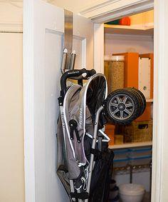 😍 MetroTOTS White StrollAway Stroller Hanger