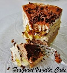 Raw Banana Tiramisu | Fragrant Vanilla Cake