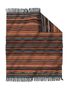 Love this. Chimayo Throw. Blanket. Native American Inspired. Decor. Interior