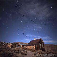 small star trails