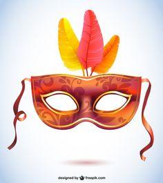Carnival vector mask fashion