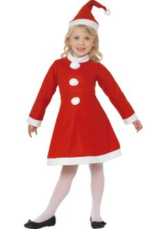 Vestito di babbo natale Costumi Da Ragazza d9e0213ded50