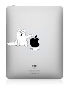 Dinner - iPad Decal iPad 2 Decals iPad 3 Stickers Macbook Vinyl decal for Apple Macbook Pro / Air / iPad via Etsy