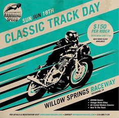 Dont forget about tomorrow! Classic Track day at #WillowSpringsRaceway with @rammingspeed_racing. #Ahrma  via ✨ @padgram ✨(http://dl.padgram.com)