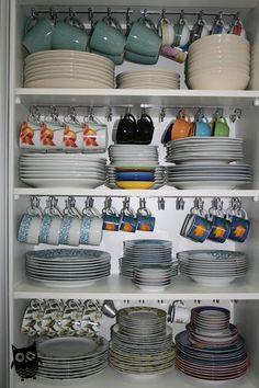 kitchen storage ideas, tableware storage ideas, storage solution or kitchen – organization Kitchen Room Design, Kitchen Cabinet Design, Home Decor Kitchen, Interior Design Kitchen, Kitchen Furniture, Eclectic Kitchen, Table Furniture, Furniture Design, Interior Decorating